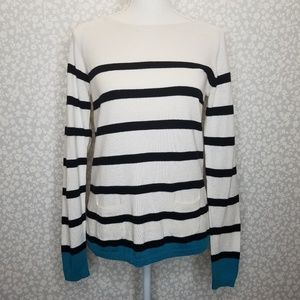 LOFT Stripes Knit Sweater